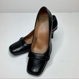 Women's Leather Heels Size 7.5
